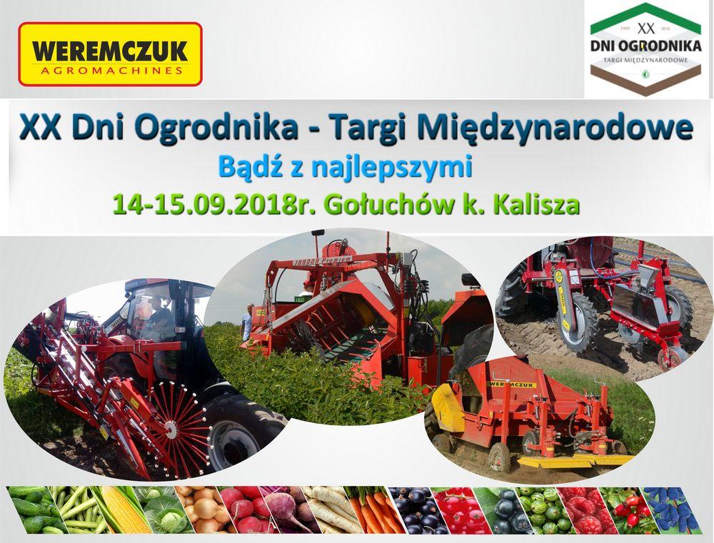 wystawa maszyn warzywniczych i sadowniczych