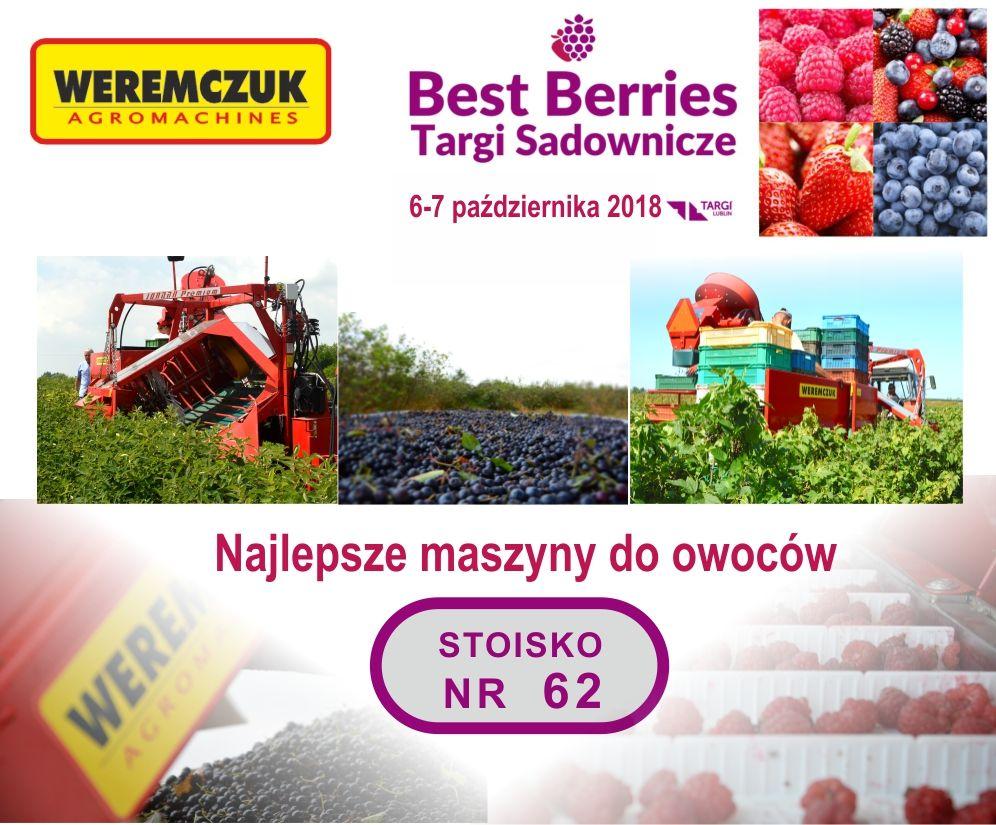 Najlepsze maszyny do zbioru owoców marki WEREMCZUK